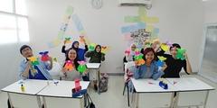 [문화 수업] 한국어 초급 1B-3 & 초급 1A-1 한복 및 전통 절 체험